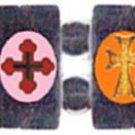 Orthodox Crosses Bracelet (Hematite)