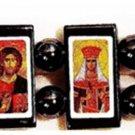 Serbian Orthodox Icon Bracelet (Wood)