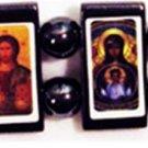Types of Theotokos Icon Bracelet (Hematite)