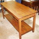 Mission arts &crafts oak harvest table