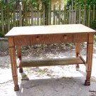 Puitan solid oak library desk...KILLER 1/4 sawn throughout