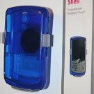 Blue Shell Case w/ Belt Clip for Blackberry Curve