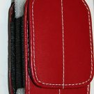Case Pouch/Belt Clip RED for BlackBerry Pearl 8120 8100