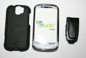 Body Glove Chrome Cover Rubber Case for myTouch Slide