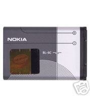 OEM Nokia Battery BL-6C BL6C 2125 3155 6255 N-Gage 6155