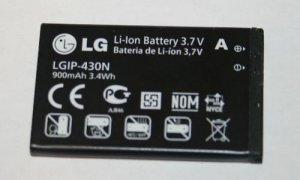 OEM LG Prime GS390 Remarq LX370 Lyric Battery LGIP-430N