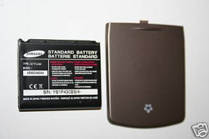 NEW OEM Samsung t819 Back Cover + Battery AB603443CA
