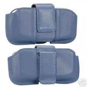 NEW Sidekick 2 3 id Leather phone Pouch OEM bijou-blue