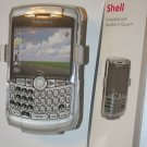 Clear Shell Case with Belt Clip for Blackberry Curve