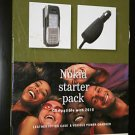 T-Mobile Leather Fitted Case+Car Charger for Nokia 2610