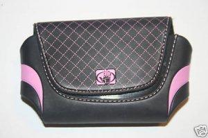 NEW BodyGlove Pouch Black w/pink for SIDEKICK 2 3 iD LX