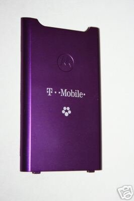 OEM Motorola W490 Back Cover Battery Door PURPLE