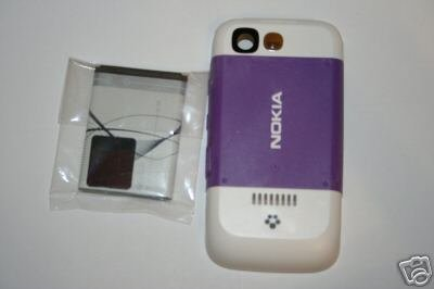 OEM Nokia 5300 Back Cover + Battery BL5B - Lilac Purple