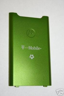 NEW OEM Motorola W490 Back Cover Battery Door GREEN