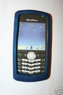OEM NEW BLACKBERRY 8100 PEARL SKIN Dark Blue Navy