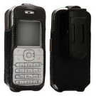New T-Mobile Leather Fitted Case for Nokia 6030 with Swivel Belt Clip