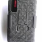 New Combo Case with Rotating Belt Clip for Motorola Droid 3 w/ Kickstand Verizon