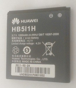 OEM Original Huawei M735 OHUA 1200 Battery HB5I1H 1200mAh GB/T 18287-2000