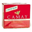 New CAMAY CLASSIC SOAP 3 PACK BARS 4OZ. EACH