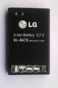 OEM LG Cosmos2 Cosmos 2 VN251, A340 Standard Battery BL-46CN 900mAh