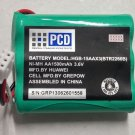 OEM PCD Standard Battery BTR2260B for Huawei Home Phone Connect FT2260VW 1500mAh