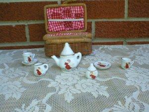 Minature Angel Tea Set