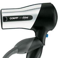 Conair Ion Shine Travel Ionic Chrome Styler