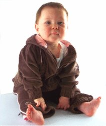 An Ultimate Sweat Suit with Pink Trim 2T