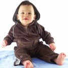 An Ultimate Sweat Suit with White Trim 2T
