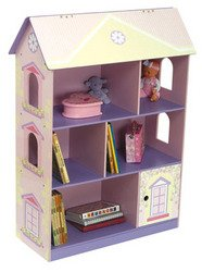 Dollhouse Bookcase - Color: Pink, Purple and Yellow