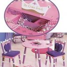 Princess Table/2 Chair set