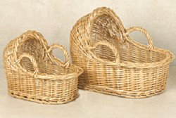 A Decorative Baby Bassinet Baskets 4 Sets of 2