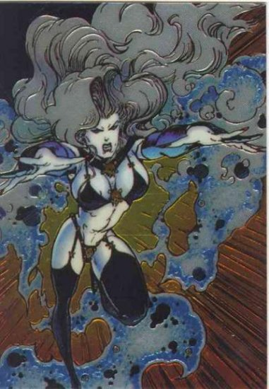Lady Death II Promo Card 1995 Combo Magazine Card