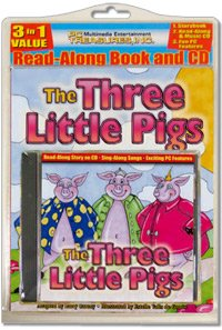 The Three Little Pigs All-in-one Classic Read Along Book / CD (Hardcover)