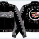 CADILLAC ADULT emblem BLACK TWILL JACKET