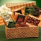 A Golden Thank you Gift Basket