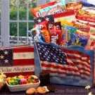 America The Beautiful Snack Gift Box basket