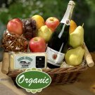 Earthly Delights Organic Fruit gift Basket