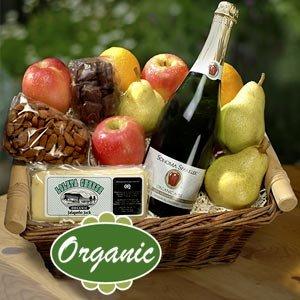 Earthly Delights Organic Fruit gift Basket
