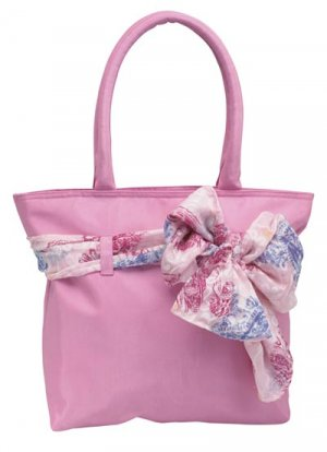Purse/Tote Bag with Detachable Scarf