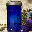 Blue Sugar Shaker