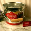 Coke Coca Cola Galvanized Beverage Bucket