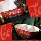 Coke Oval Tray W/ Handles