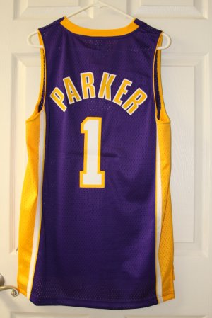 6e67b31524a SMUSH PARKER LOS ANGELES LAKERS #1 JERSEY SZ SMALL