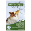 ADVANTAGE CANINE GREEN 1-10#