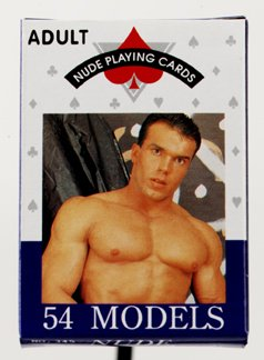 Nude Male Playing Cards - DJ1950-00