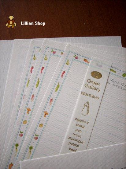"Barunson letter set-""Green Gallery"""