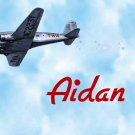 Airplane Plane Boy  PERSONALZED Note Cards Stationery