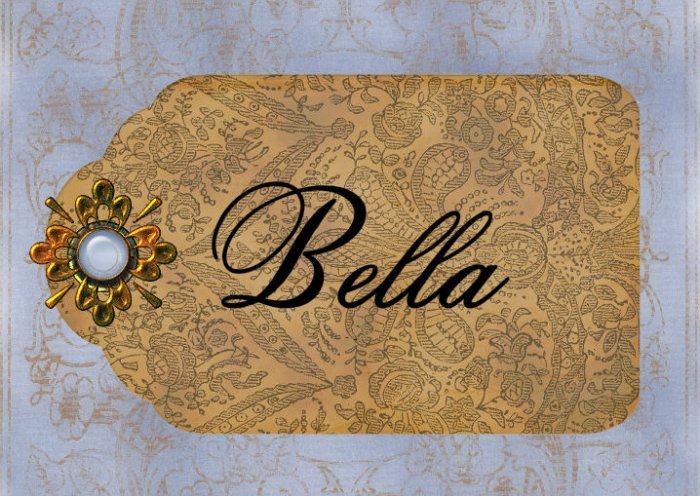 Paisley Toile Tag  PERSONALIZED Note Cards Stationery