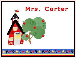 Teacher Gift School Bell PERSONALIZED Note Cards
